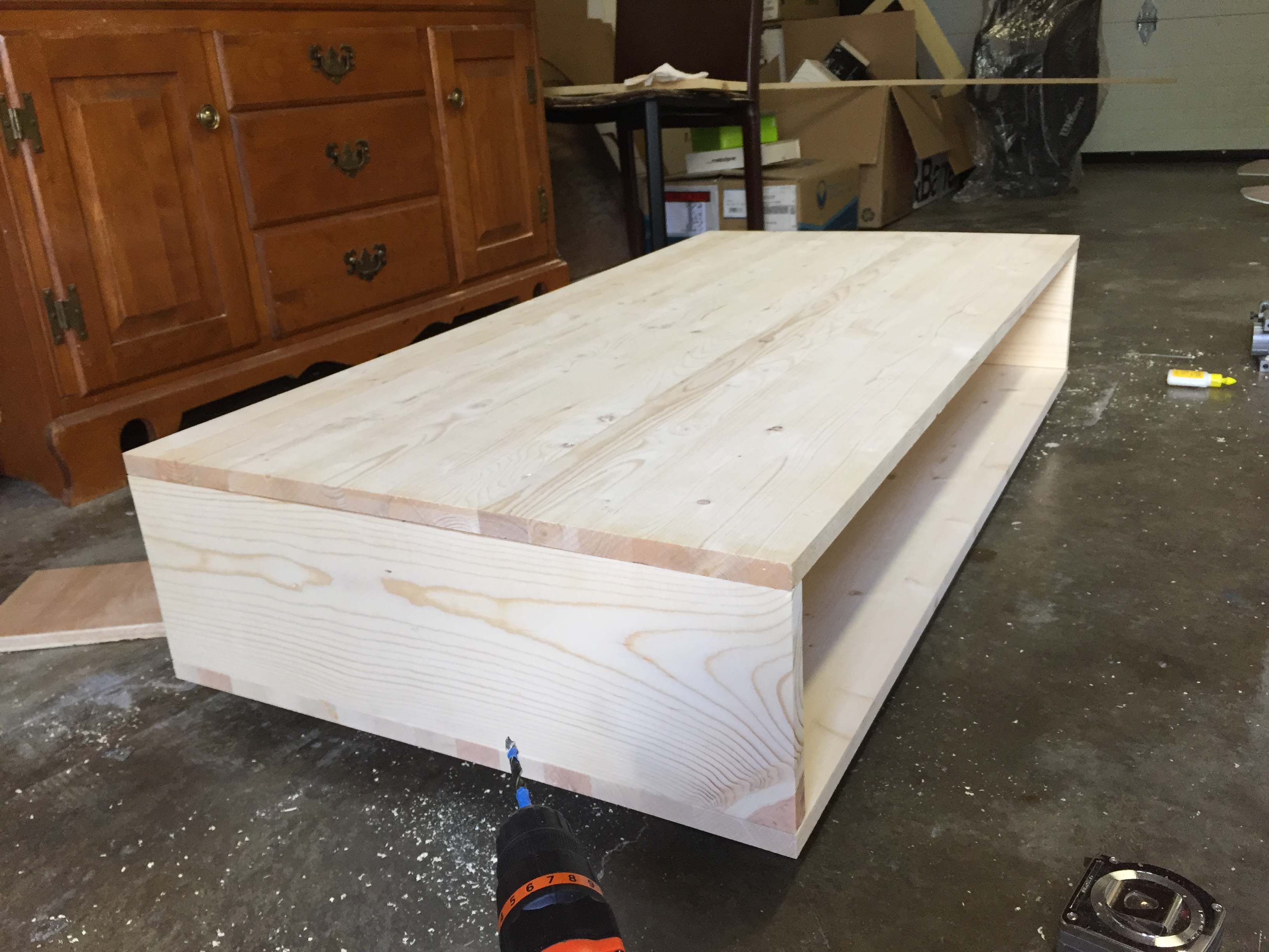 Build Your Own Mid Century Modern Coffee Table For 60 Bay On A Budget